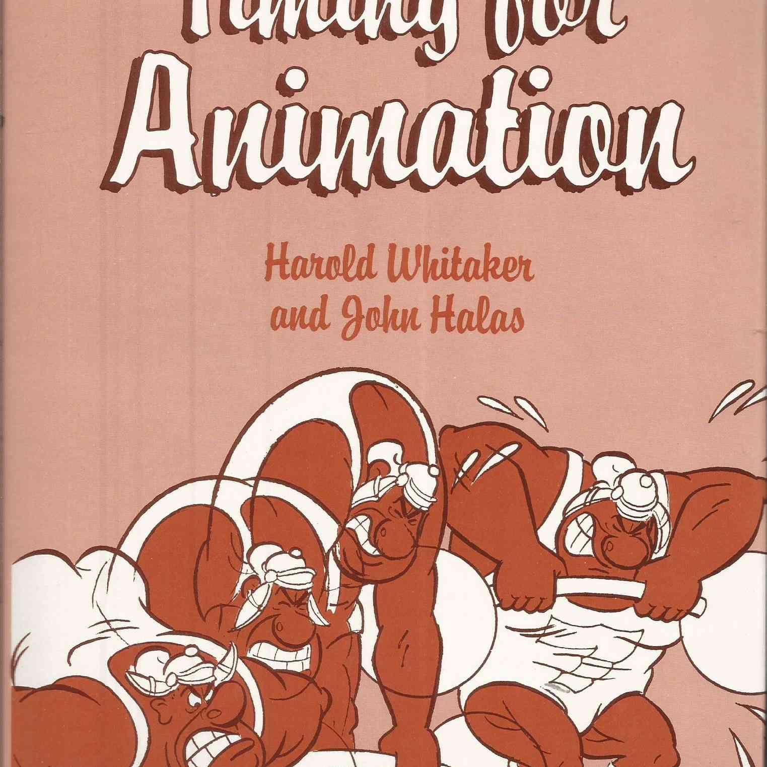 The cover image for Timing for Animators