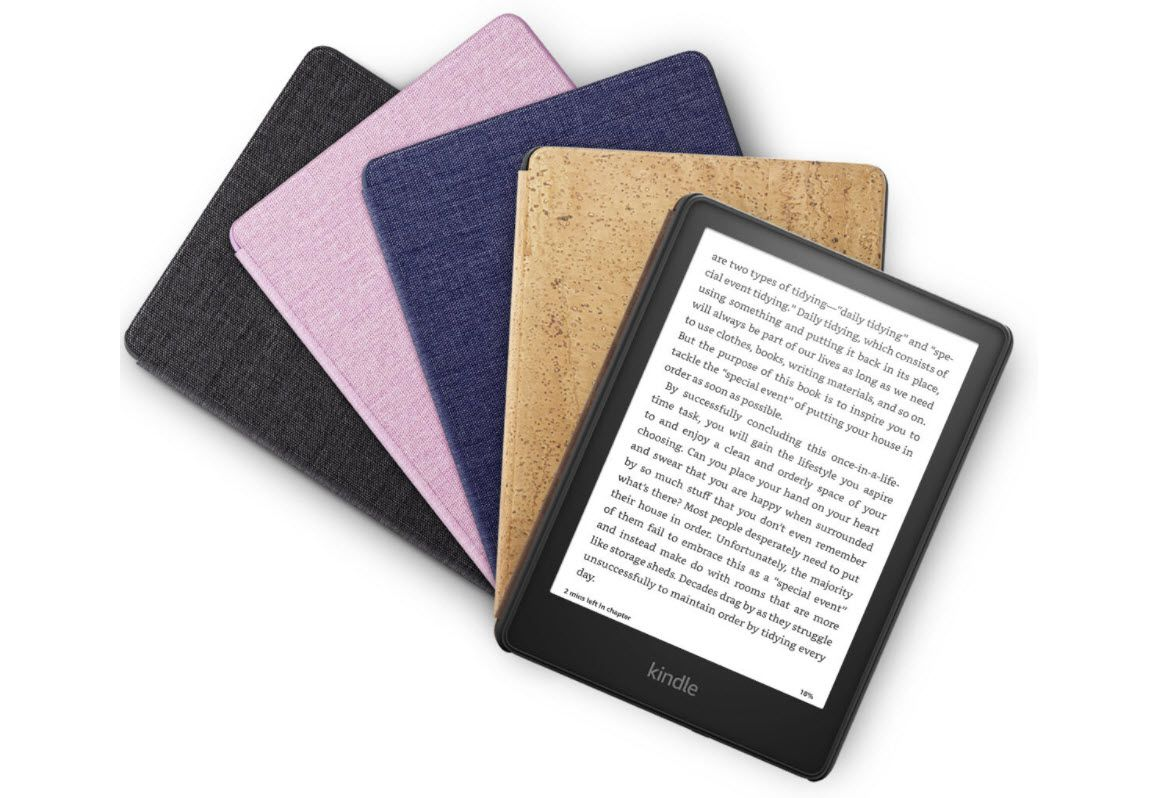 The brand new Kindle Oasis, announced on September 21.