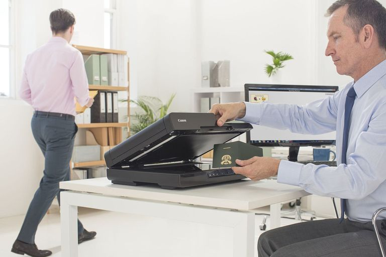 Canon imageFORMULA DR-F120 Document Scanner