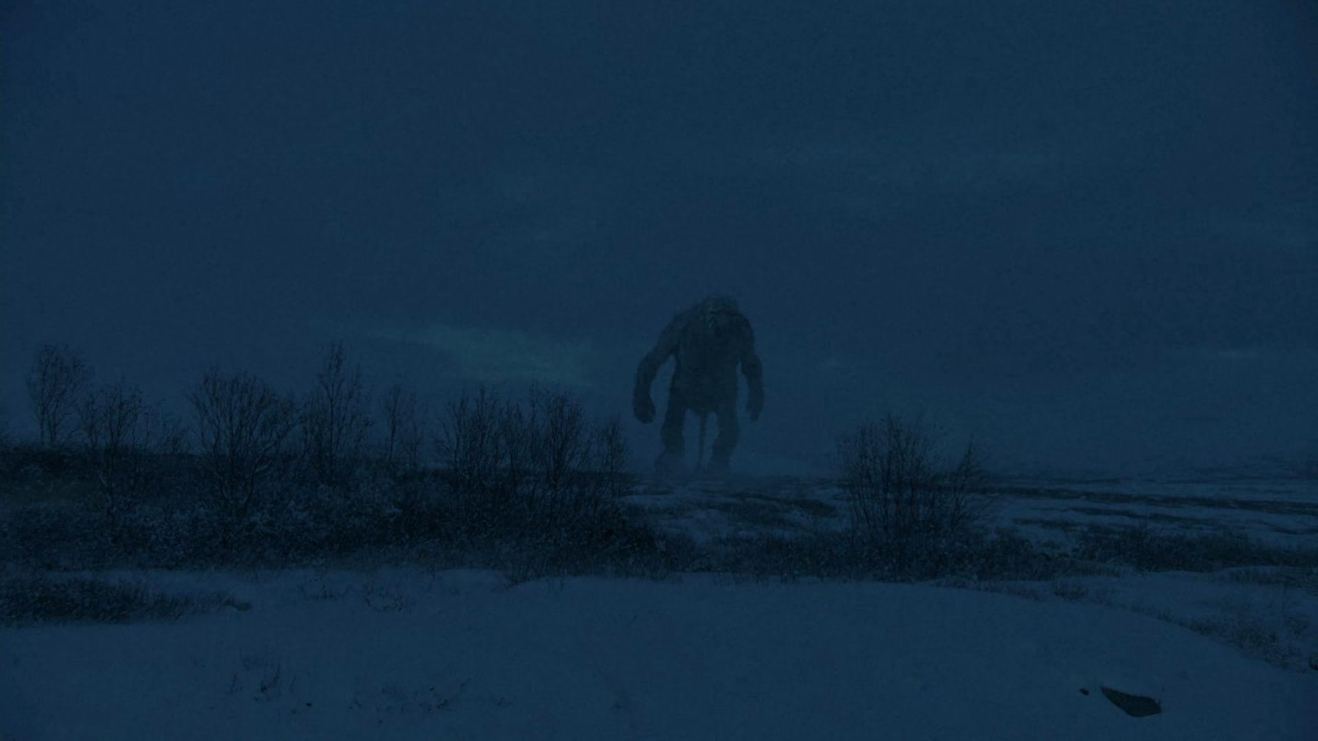 Screnshot of Trollhunter movie