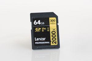 Lexar Professional 2000x 64GB SDXC UHS-II Card