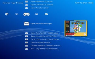 Use RetroArch to download emulators and play games on your PC.