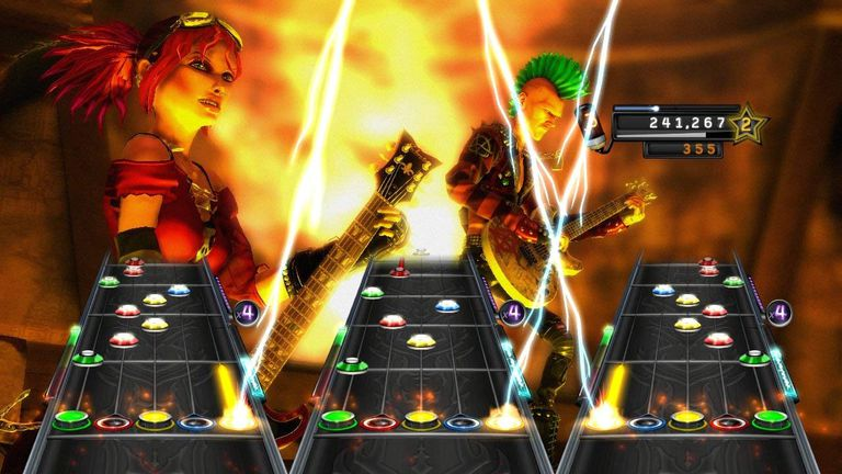 Guitar Hero Warriors of Rock screenshot