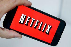Netflix on an iPhone