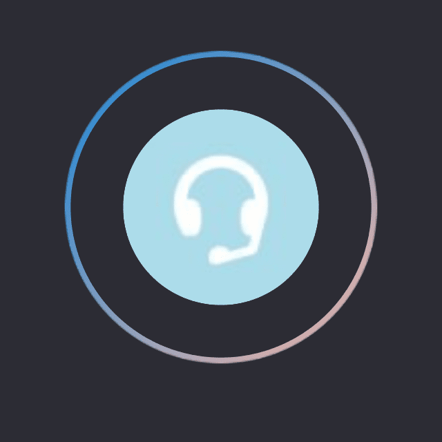 Screenshot of a Skype echo/sound test on an iPhone