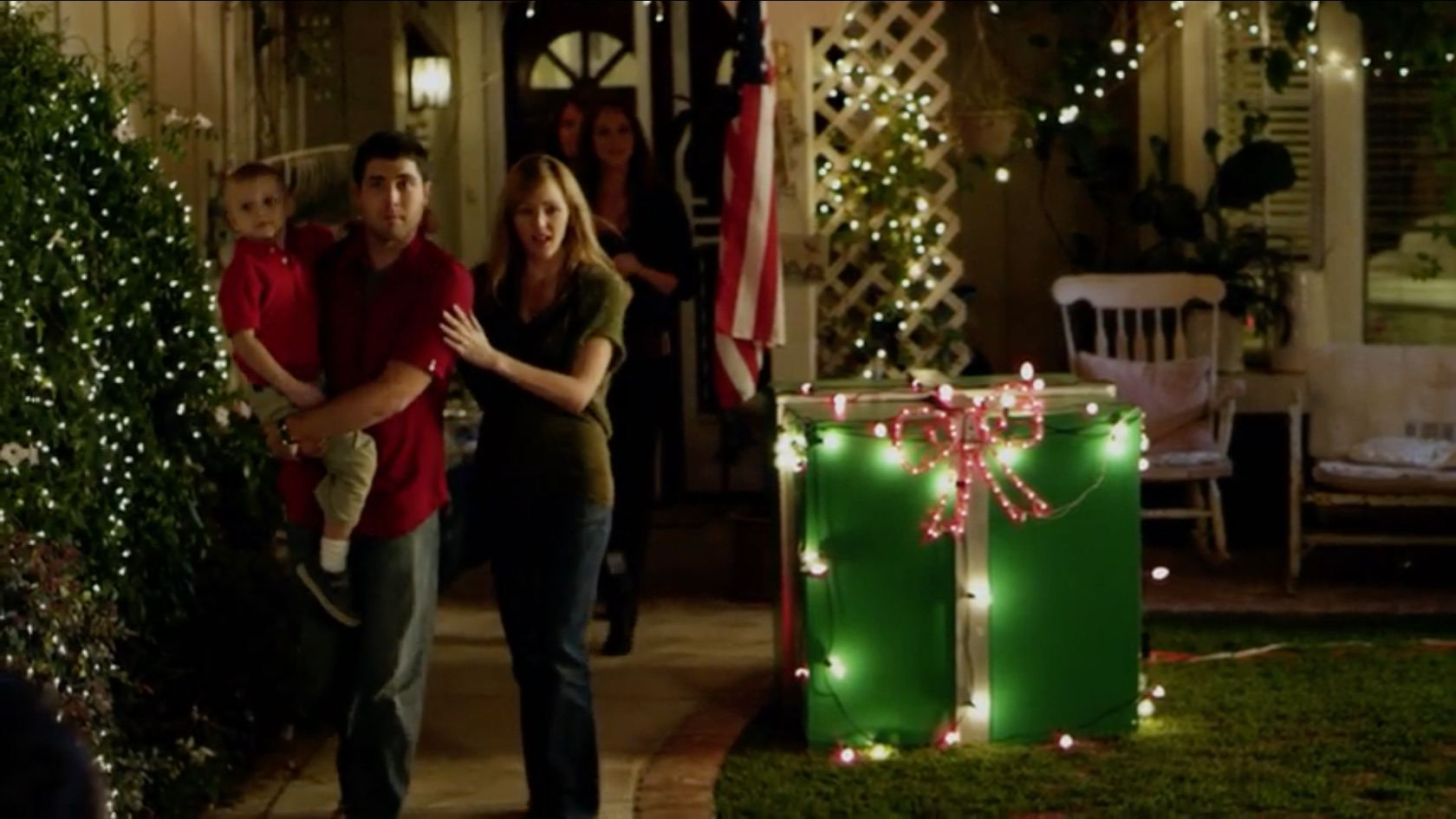 A still image of The Heart of Christmas.