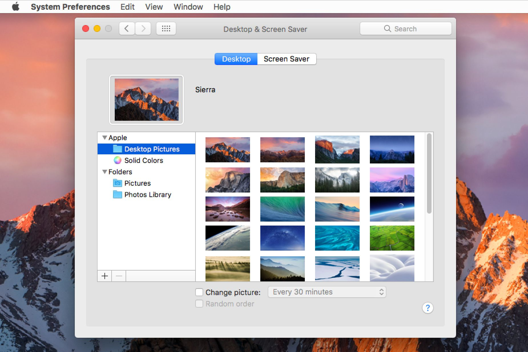 Personalize the Mac's Desktop Wallpaper With Your Own Pictures