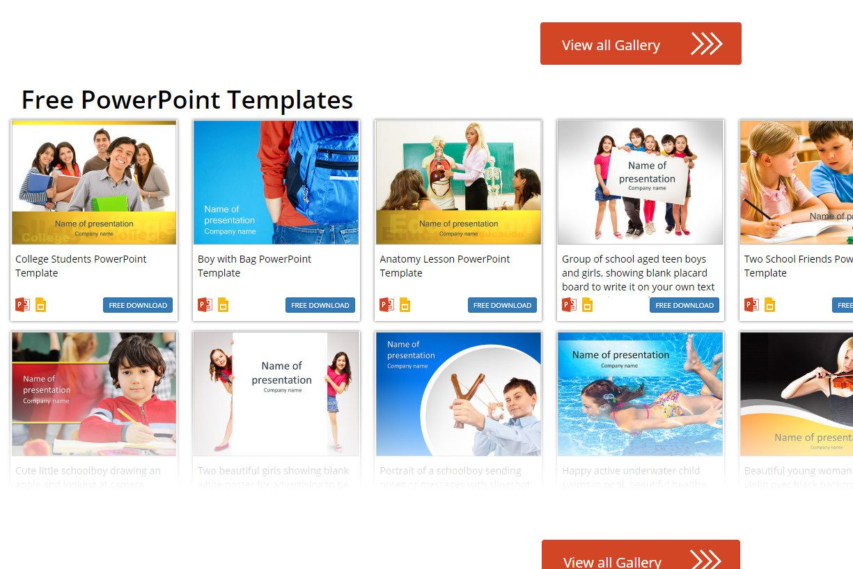 microsoft powerpoint templates for school