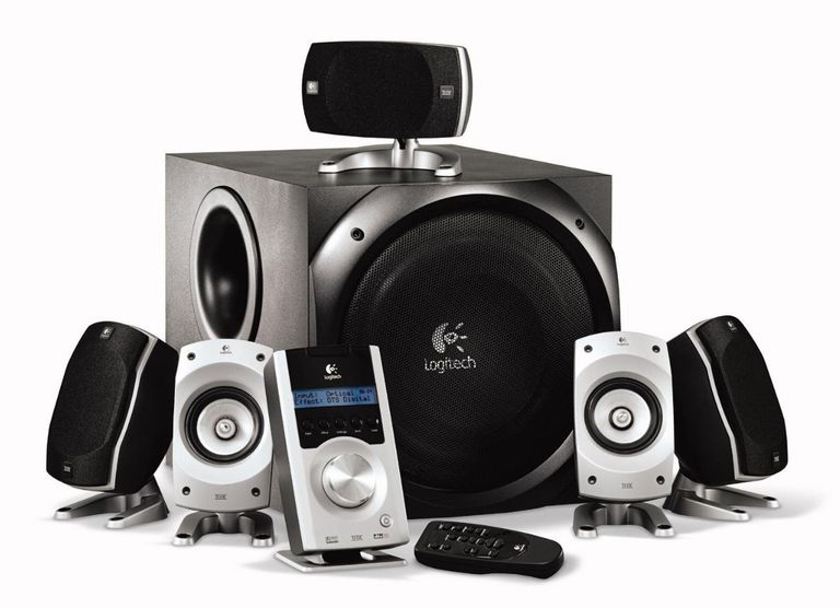 Logitech Z-5500 THX-Certified 5.1 Digital Surround Sound Speaker System