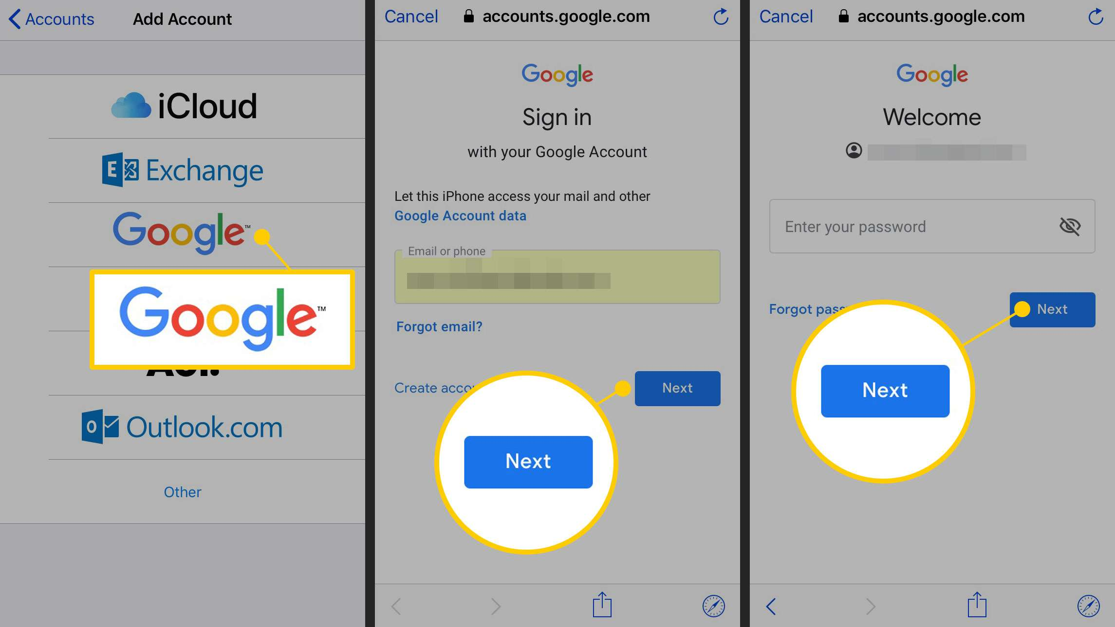 How to Sync Gmail Contacts to an iPhone