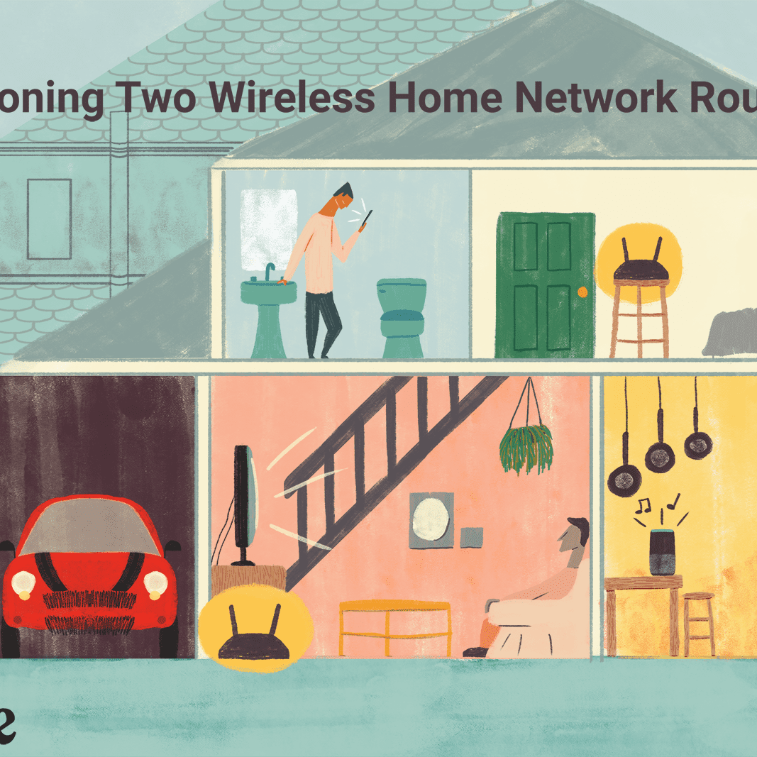 How To Connect Two Routers On A Home Network