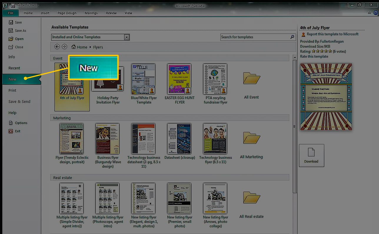 How To Create A Greeting Card In Microsoft Publisher