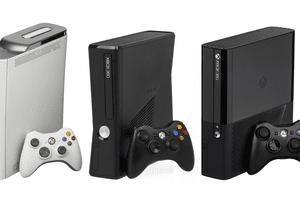Xbox 360 models.