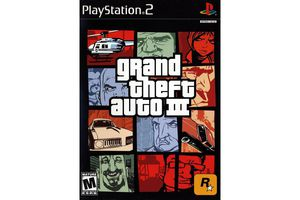 Grand Theft Auto III cover art.