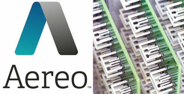 Official Aereo Logo and Antenna Array