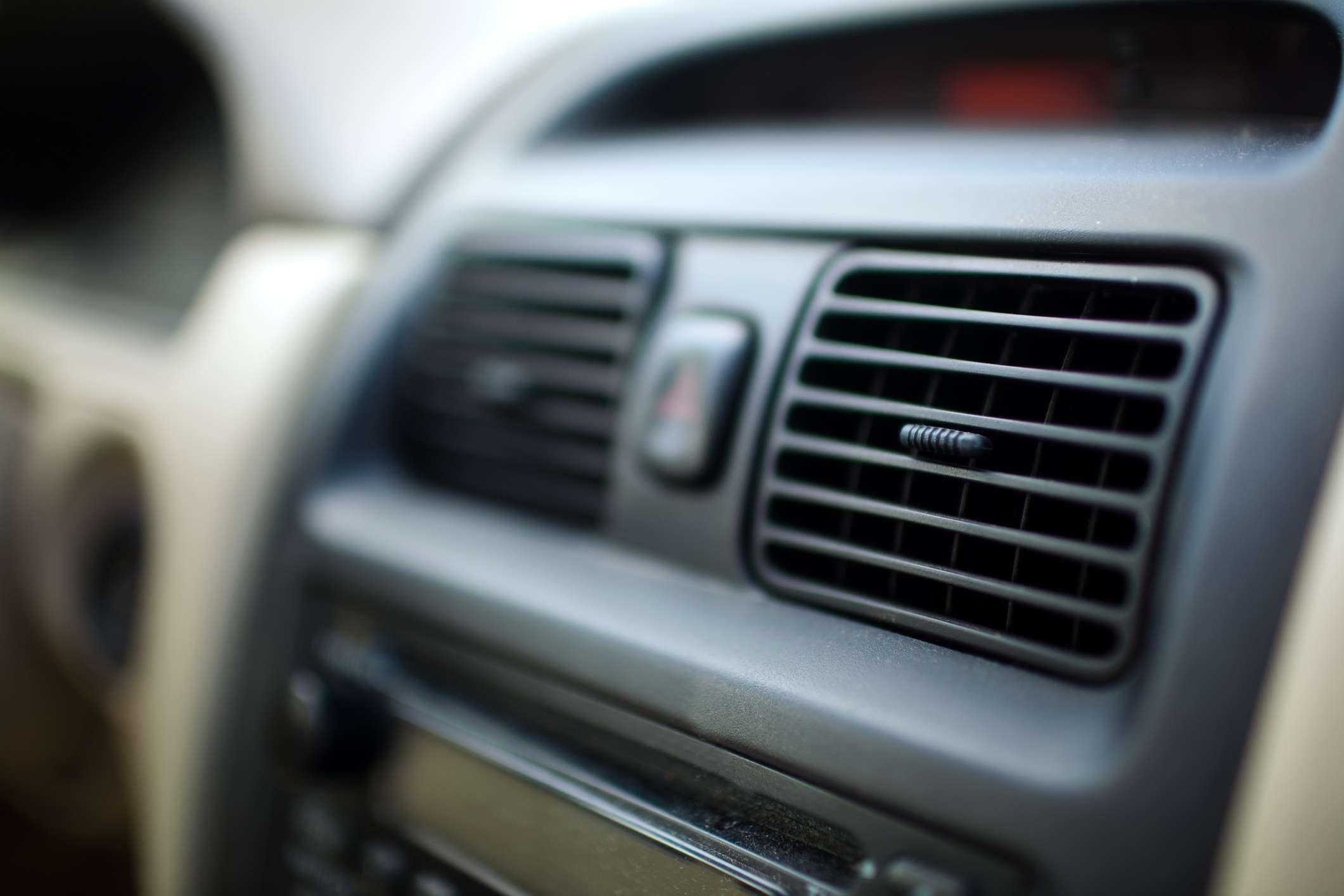 car interior vents