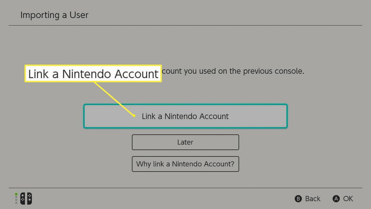 Link a Nintendo Account