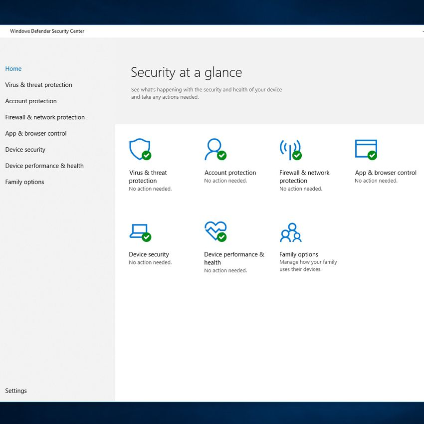 Windows Comprehensive Security