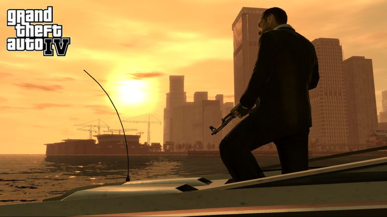 Grand Theft Auto IV graphic