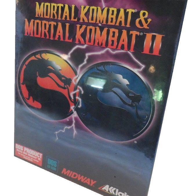 Mortal Kombat & Mortal Kombat II Box Art