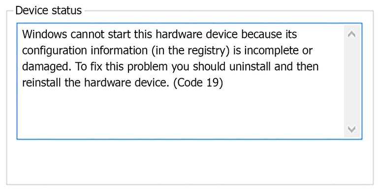 how to fix fatal device hardware error