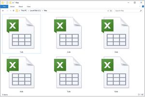 XLS Files in a folder