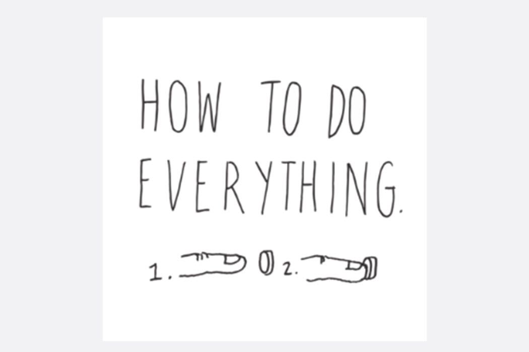 The How To Do Everything logo.