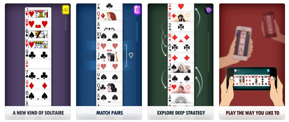 Solitaire Pair on the iPhone or iPad.