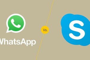 WhatsApp vs. Skype