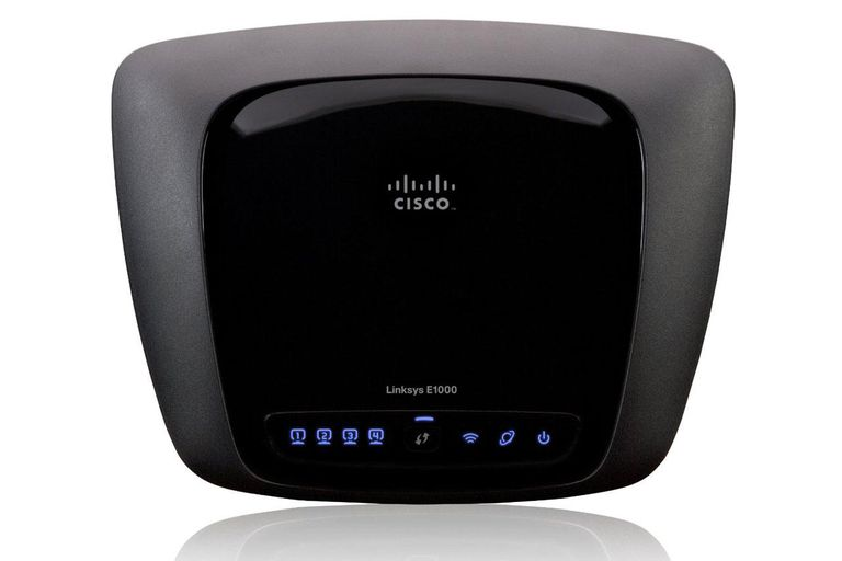 What is Cisco E1000 default password?
