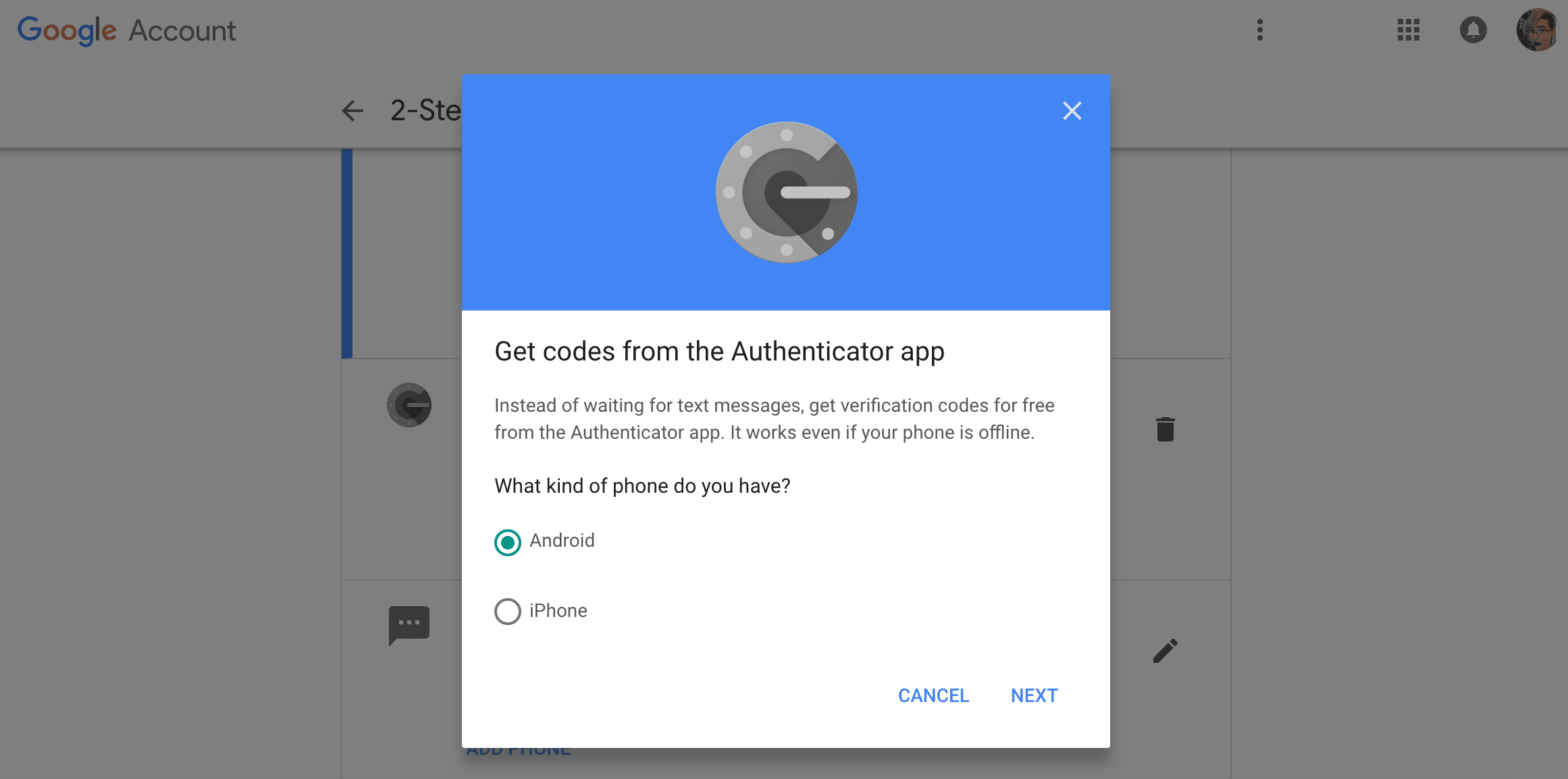 How to Move Google Authenticator to a New Phone