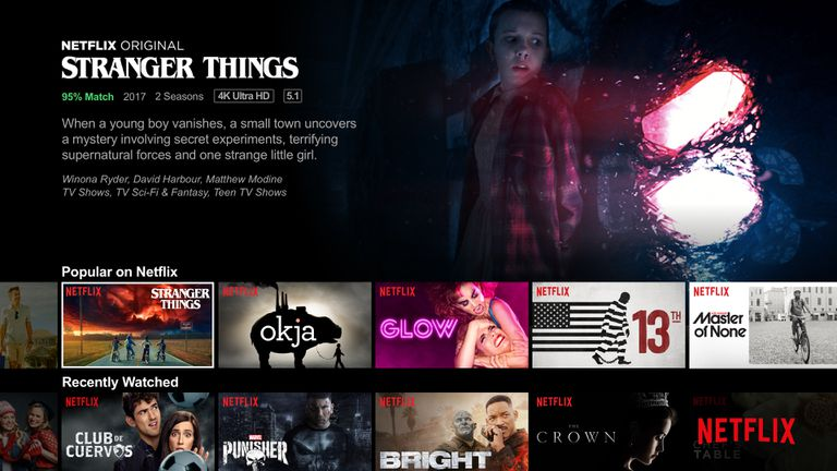Image result for netflix home screen