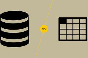 Database vs. Spreadsheet