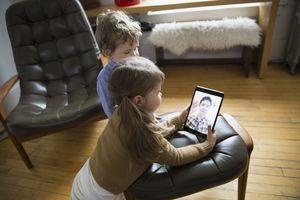 Kids using Facetime