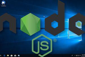 Install Node JS on Windows 10