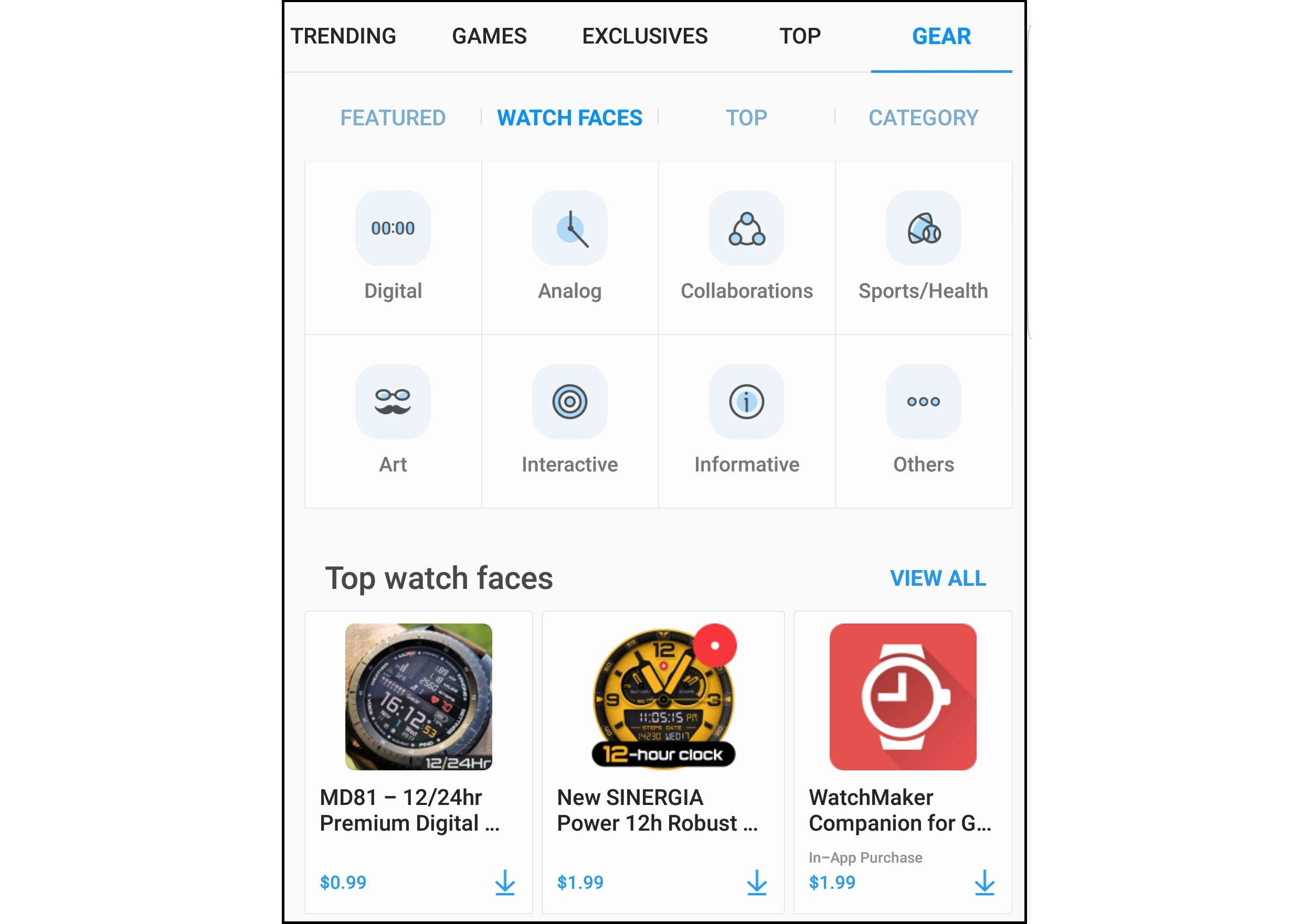 Customize your Gear 3 smartwatch to match your tastes