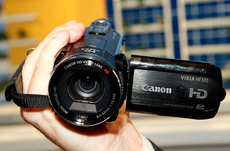 Canon's Vixia HF S10 high definition camcorder