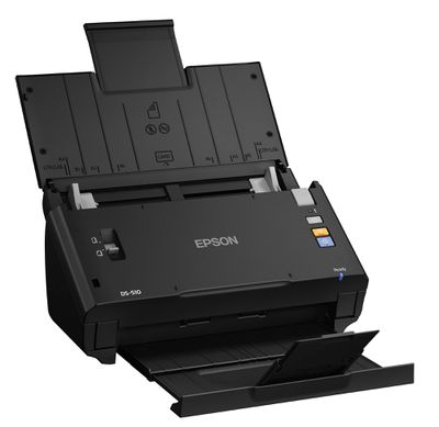 The 7 best document and photo scanners of 2018 fast and accurate ocr from epsons workforce ds 510 document scanner reheart Image collections