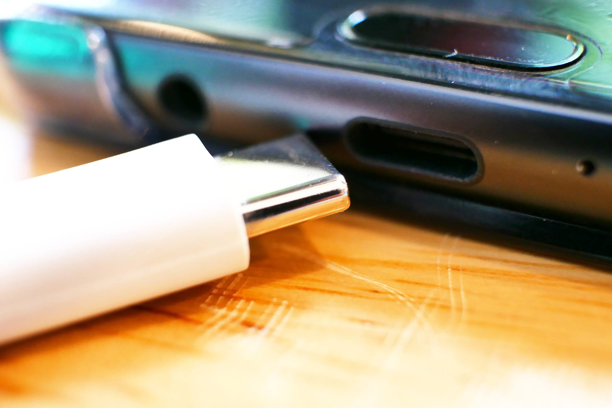 USB-C port found on some Samsung phones.