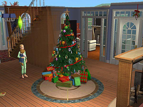 build a chimney and buy a christmas tree