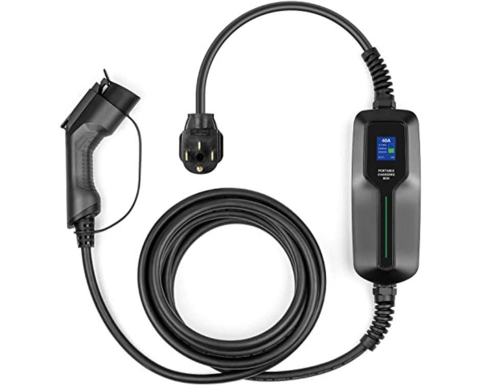 A Lefanev 240 portable charger.