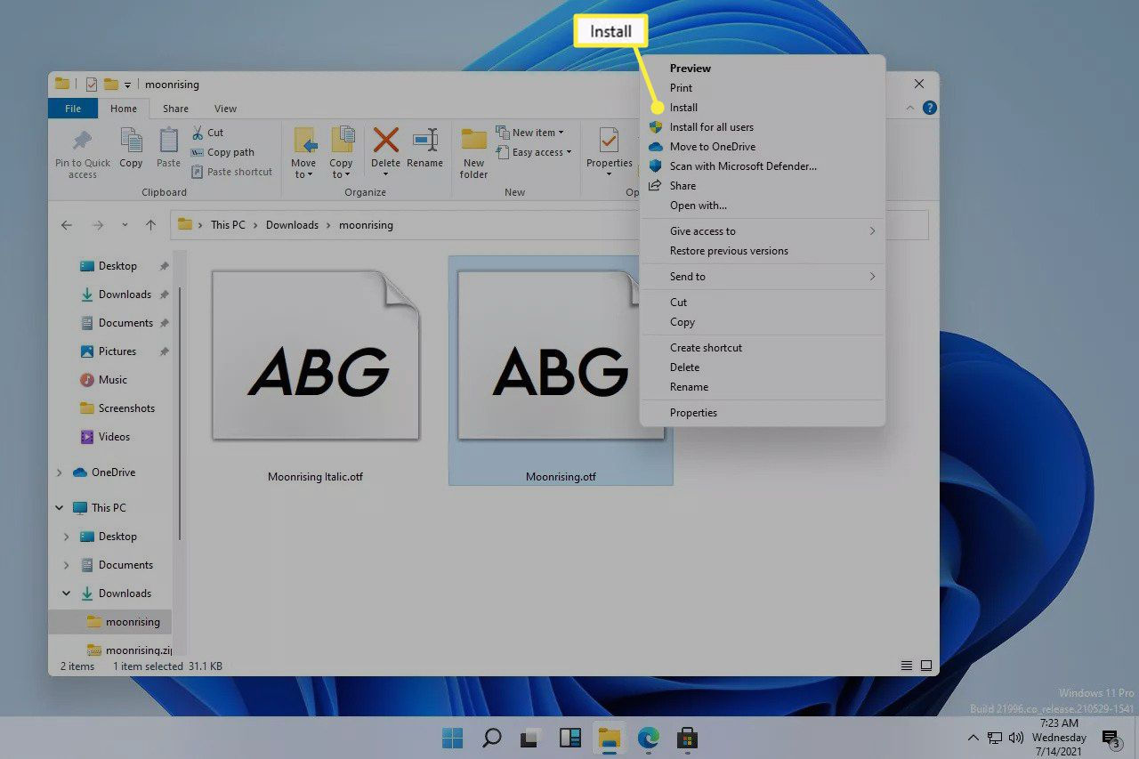 How to Install Fonts in Windows 11 [Guide]