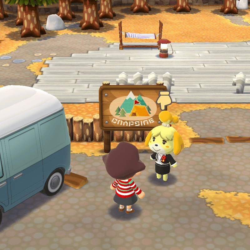 Screenshot from Animal Crossing: Pocket Camp