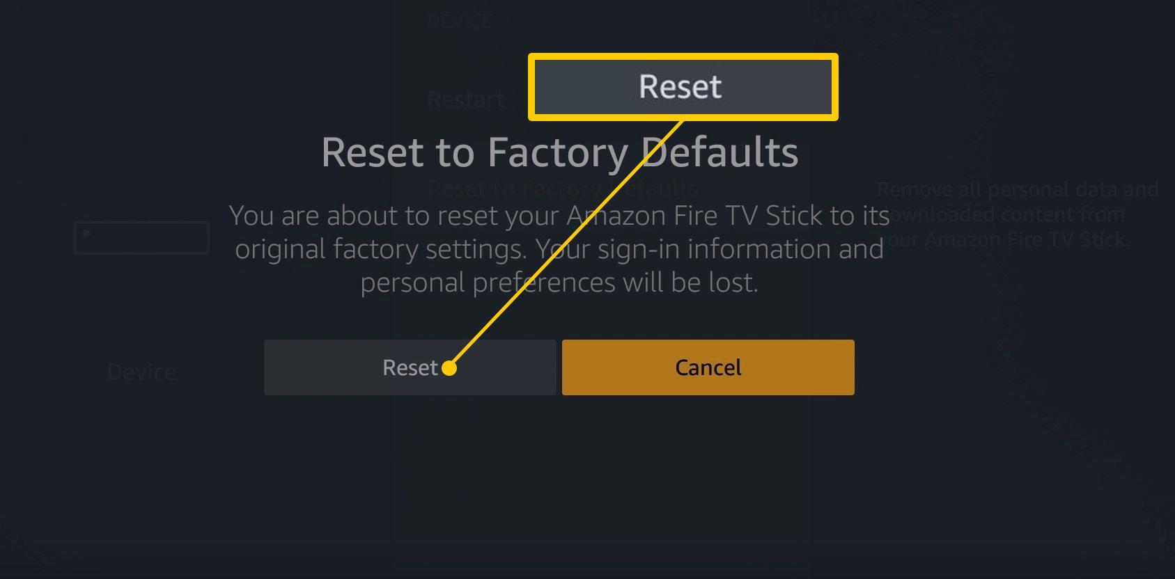 Fix Netflix code 100 fire tv stick