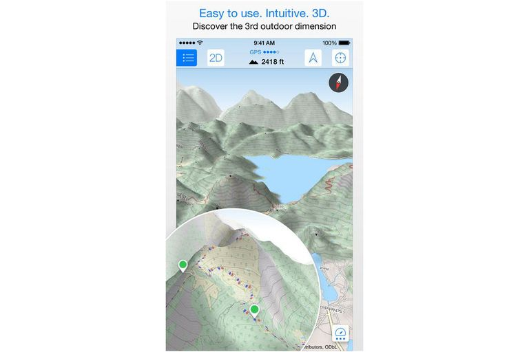 Maps 3D Pro Screenshot