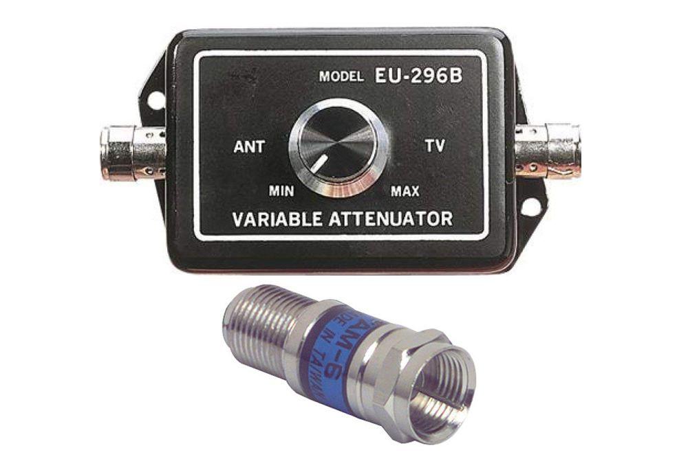 TV Signal Attenuators