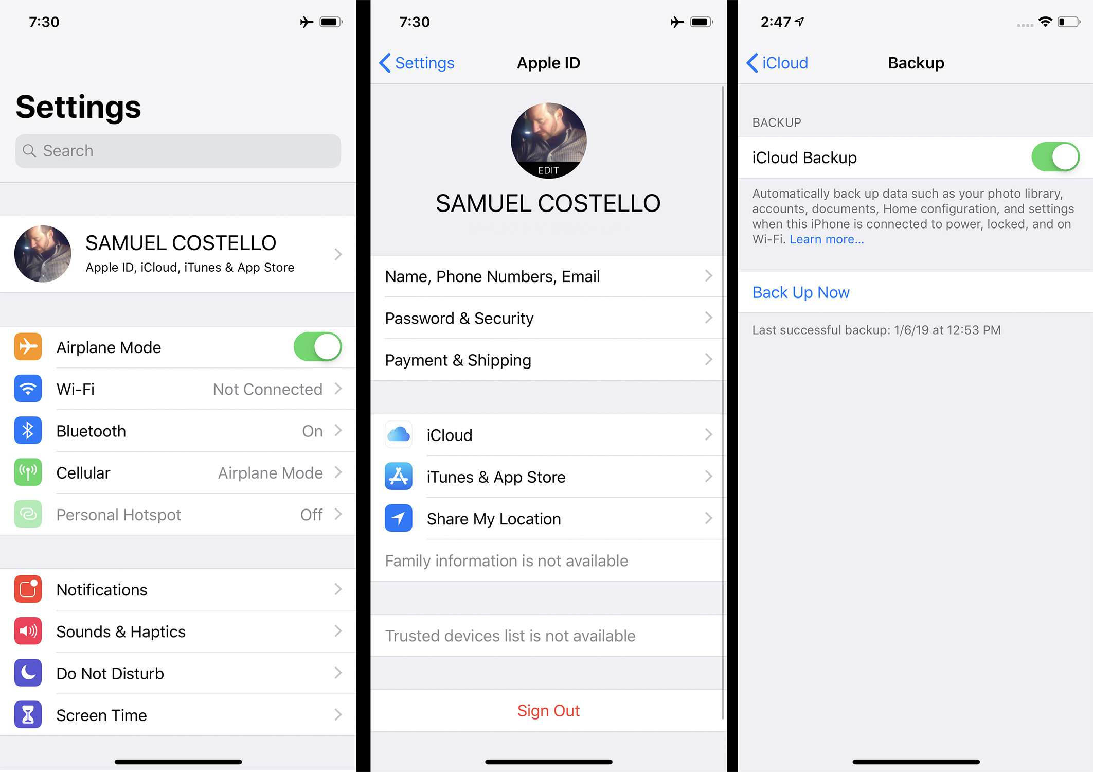 How to Backup Your iPhone 6 to Your Computer or the Cloud