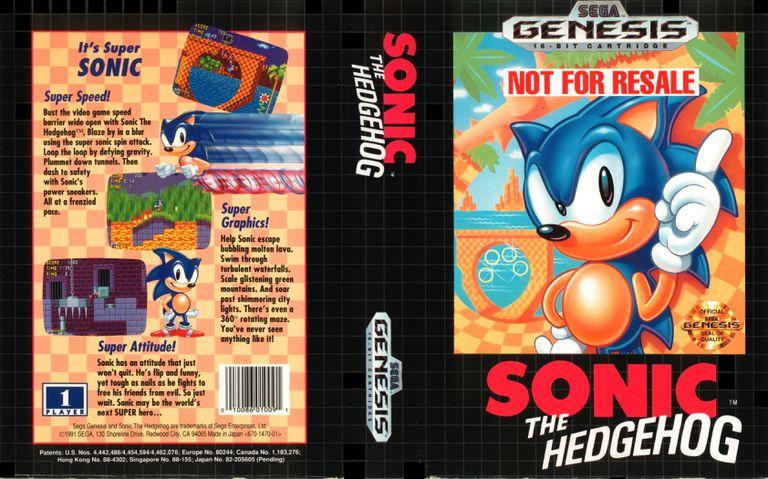 sonic the hedgehog rom genesis
