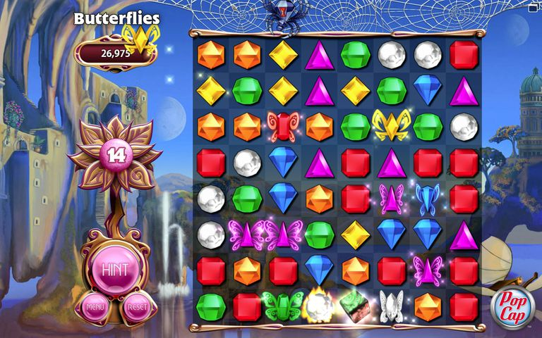 Screenshot from Bejeweled 3