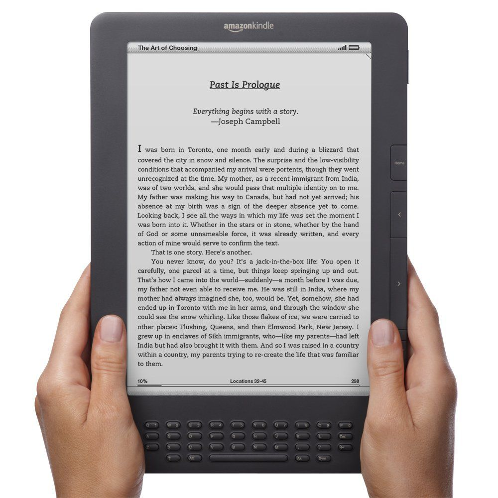Kindle DX Tops Our List Of E-Readers For Students